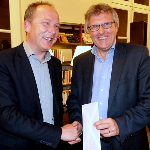 Jan Knudde en Philip Konings